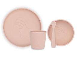 Jollein - Dinerset Siliconen Pale pink