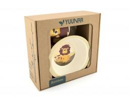 Yuunaa - kinderservies leeuw
