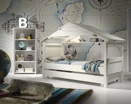 Mathy By  Bols - Star boomhut 90x190 cm met bedschuif