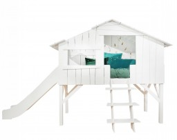 Mathy By Bols - Boomhut bed met glijbaan