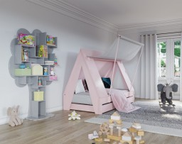 Mathy By Bols - Tentbed met bedschuif 90x200 cm