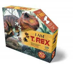 Madd Capp - puzzel - T-rex - 100 pcs