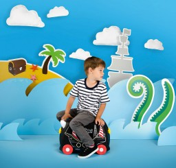 Trunki - Kinderkoffer ride-on piraat