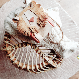 Atelier Ovive - Lion bag nude/blush