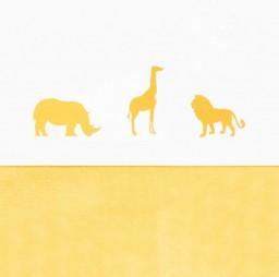 Jollein - laken Safari Safari ocher 120x150cm