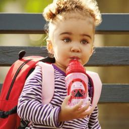 Skip Hop - Zoo drinkfles met rietje - Lieveheersbeestje