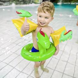 Swim Essentials - splitring dino