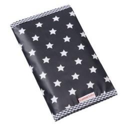 Cottonbaby - Luieretui zwart met sterren