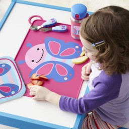Skip Hop - Zoo Fold & Go Placemat Butterfly