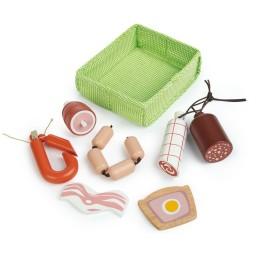 Tender leaf toys - mandje met vlees