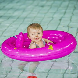 Swim Essentials - zwemzitje roze 0-1 jaar