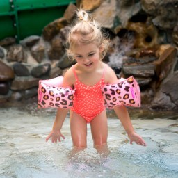 Swim Essentials - zwembandjes panter 2-6 jaar