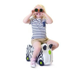 Trunki - Kinderkoffer ride-on zebra