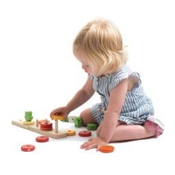 Tender leaf toys - Wortelen tellen