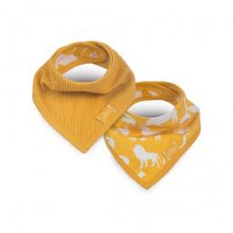 Jollein - slab bandana Safari ocher ( 2 pack )