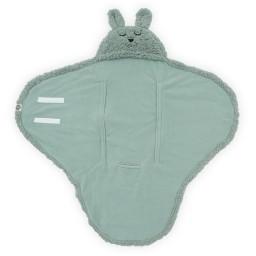 Jollein - Wikkeldeken Bunny ash green