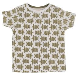 pigeon - T shirt schildpad olijf