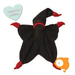 Peppa - Knuffeldoek Sisco bruin/rood