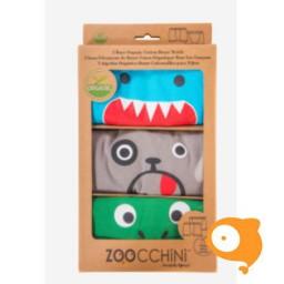 Zoocchini - Boxers groen multi - pakketje van 3 JONGENS