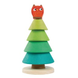 Tender leaf toys - Stapelaar dennenboom