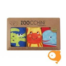 Zoocchini - Zindelijkheids-/Trainingsbroekjes Ocean - Pakketje van 3 JONGENS