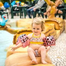 Swim Essentials - zwembandjes panter 0-2 jaar