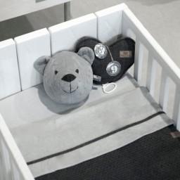 Baby's Only - Berenkop cable grijs