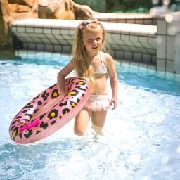 Swim essentials - kinderzwemband panter - 70 cm