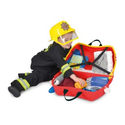 Trunki - Kinderkoffer ride-on brandweerwagen