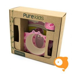 Pure Kids - Bamboe kinderservies vlinder