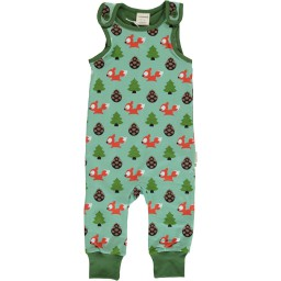 Maxomorra - Playsuit Busy squirrel