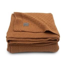 Jollein - deken bliss knit caramel - 100 x 150 cm