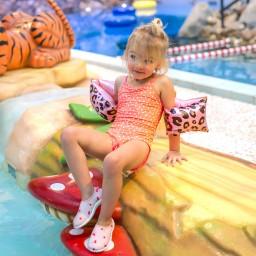 Swim Essentials - zwembandjes panter 2-6 jaar