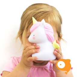 A little lovely company - Nachtlampje unicorn