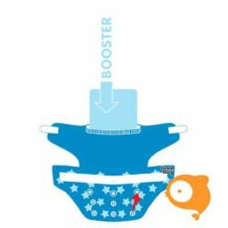 Pandababy - Uitwasbare zwemluier Jeanslook (drukkers)