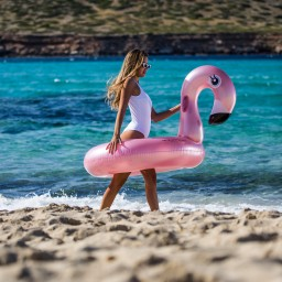 Swim essentials - zwemband groot flamingo