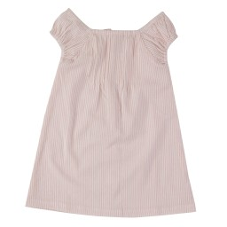 pigeon - shift dress gestreept pink