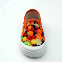 Pépé Children Shoes - Tessuto Orange