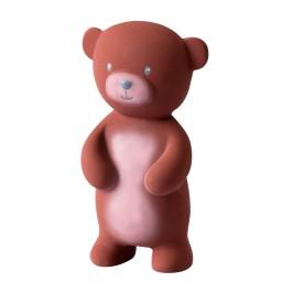 Tikiri - Bad- en bijtspeeltje met belletje - bruine beer