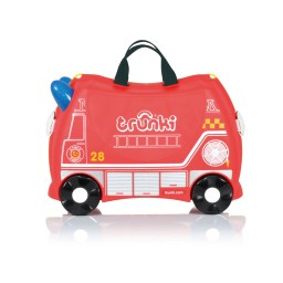 Trunki - Kinderkoffer ride-on brandweerwagen
