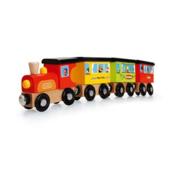 Scratch - Preschool: trein rond de wereld