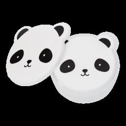 A Little Lovely Company - Snack box set van 4 - Panda