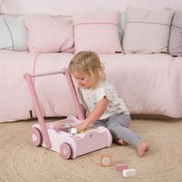 Little Dutch - Blokkenkar hut - adventure pink