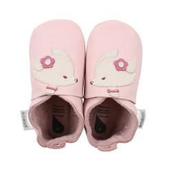 Bobux - Soft soles hertje roze
