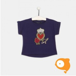 Conguitos - T-shirt hartje donkerblauw