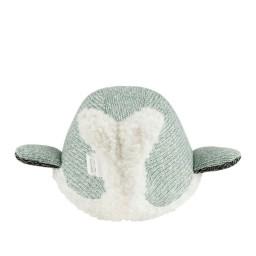 Flow - knuffel met hartslag Moby de walvis groen