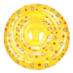Swim Essentials - zwemzitje circus geel 0-1 jaar