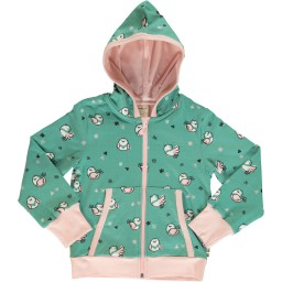 Maxomorra - cardigan hood little sparrow