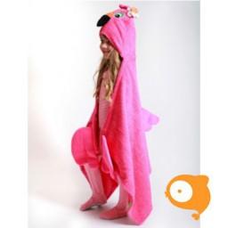 Zoocchini - KIDS badcape flamingo