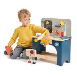 Tender leaf toys - werkbank ( tafelmodel)